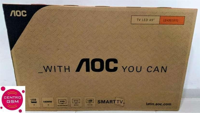 Smart Tv AOC de 49 pulgadas nuevas - 0