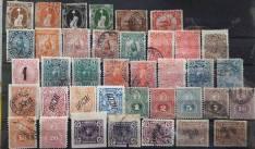 Estampillas antiguas de Paraguay