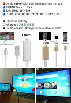 Cable HDMI para celulares