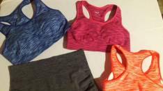 Shorts elastizados y top