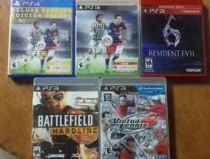Juegos de PS3 y PS4