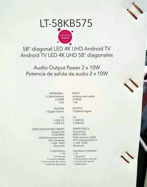 Smart Tv JVC 4K UHD 58 pulgadas nuevas - 1