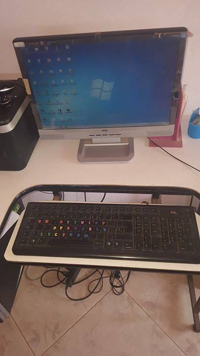 Computadora de mesa fabian for Mesa para computadora