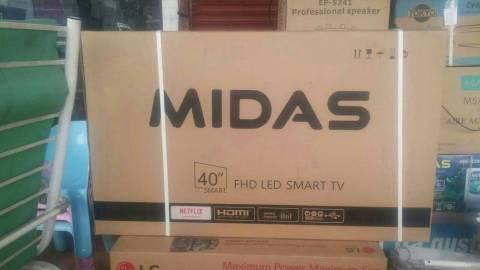 Tv LED smart Midas de 40 pulgadas