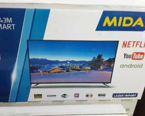 TV LED smart Midas de 43 pulgadas