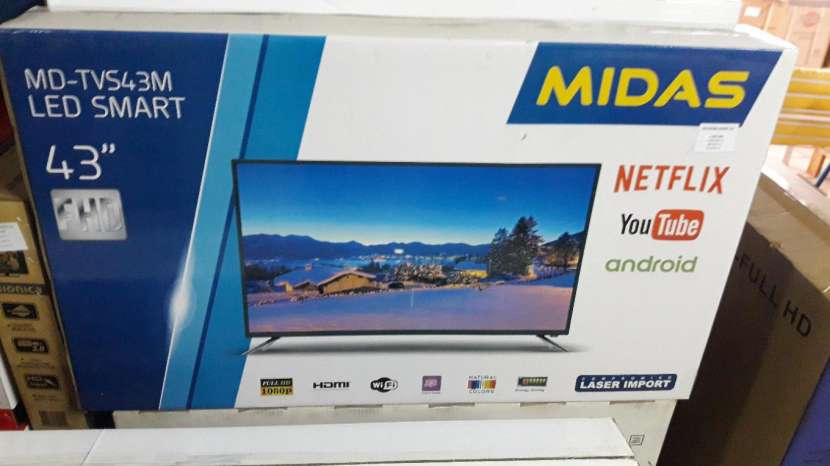 TV LED smart Midas de 43 pulgadas - 0