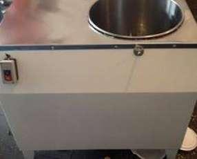 Amasadora rpida de 20 kilos tachos de acero inoxidable