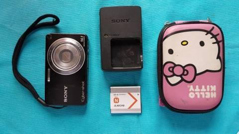 Camara Sony DSC-W350 CYBERSHOT 14.1 MP