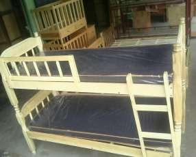 Cama de dos pisos
