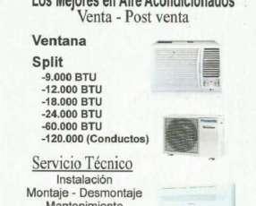 Instalación mantenimiento y reparación aire acondicionado