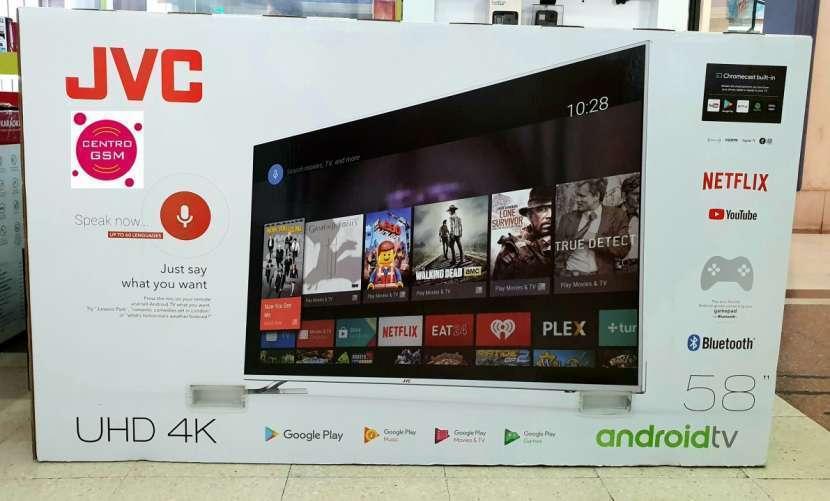 Smart TV JVC 4K UHD 58 pulgadas nuevas - 0
