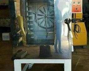 Horno turbo eléctrico trifásico en acero inoxidable