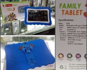 Tablet Family wifi protector y memoria adicional 8 gb