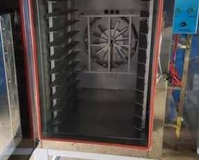 Horno turbo elctrico trifsico en acero inoxidable