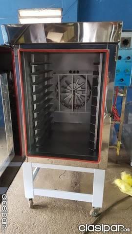 Horno turbo elctrico trifsico en acero inoxidable