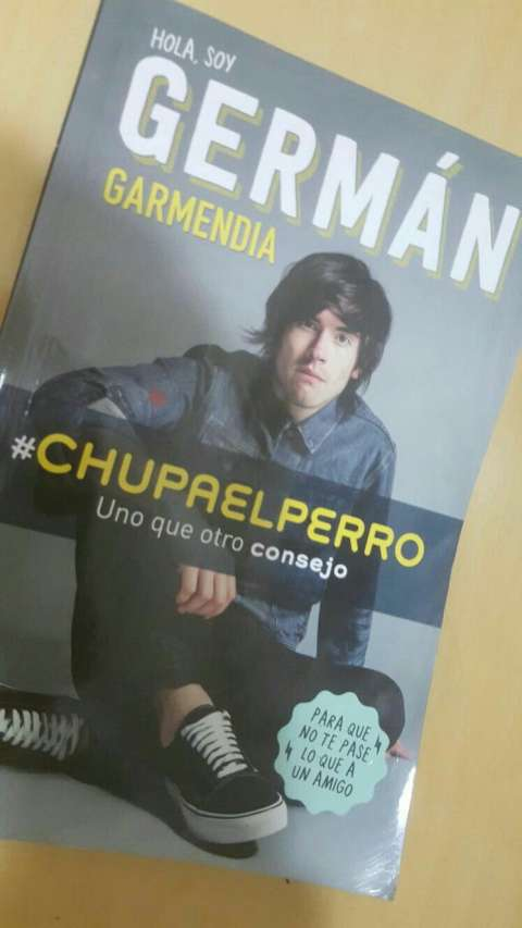 Libro de German Garmendia #chupaelperro