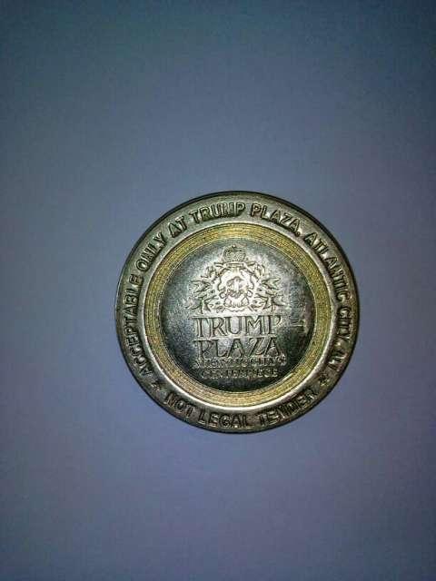 Moneda del Casino Trump Atlantic City Las Vegas