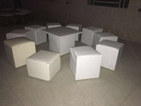 Servicio de alquiler sillas mesas y vajillas