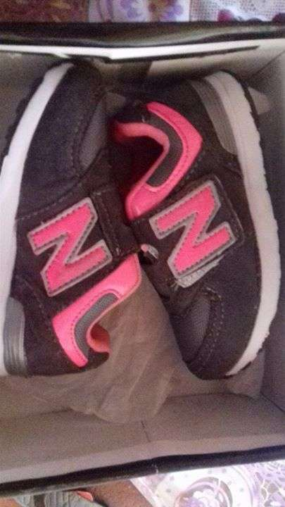 Calzado New Balance calce 23