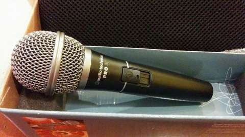 Micrófono Vocal Dinámico Cardioide audio-technica Pro 31
