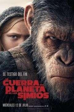 Pelicula Planeta de los simios 3