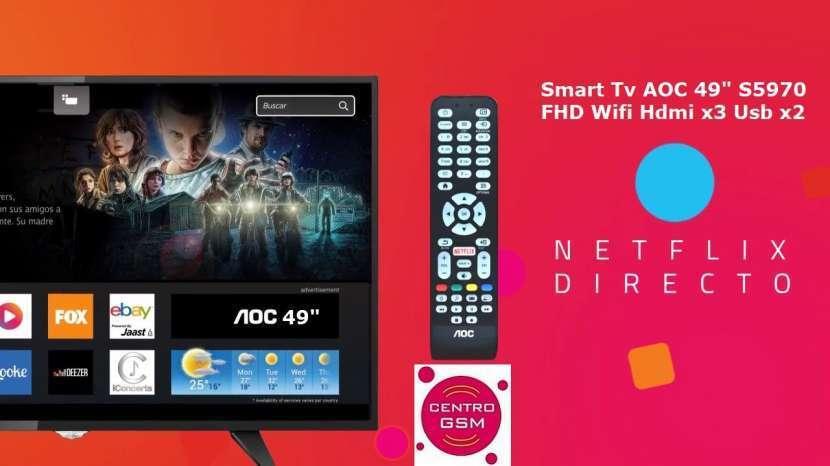 Smart Tv AOC 49 pulgadas nuevas en caja