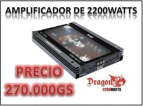 Amplificador de 2200 watts