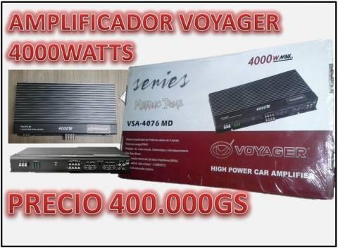 Amplificador analógico de 4000watts