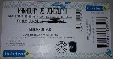 Entrada Paraguay