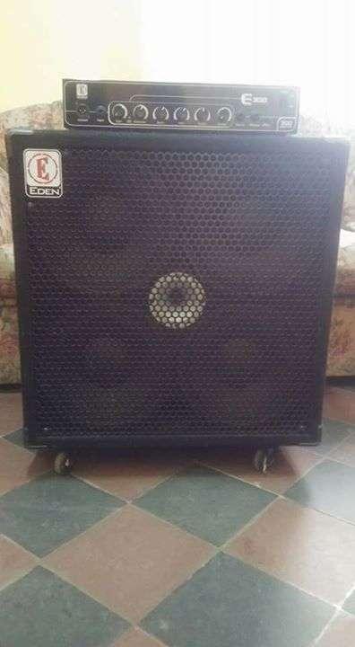 Amplificador para Bajo y Cabinet