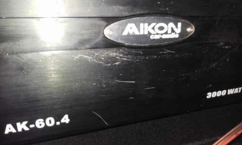 Amplificador de 3000 Aikon
