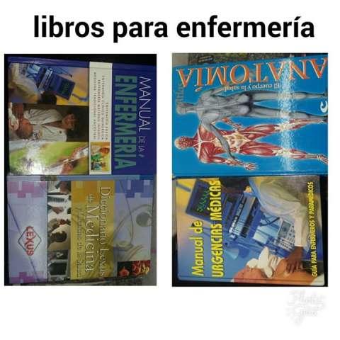 Libros nuevos de enfermería