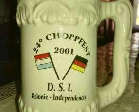 Lotes de 9 manijas Fiesta del Chopp de Colonia Independencia