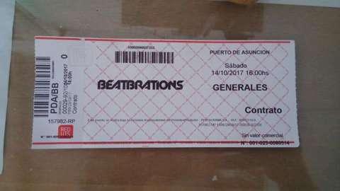 Entradas para el Beatbrations