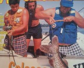 Colección de revistas de caza y pesca