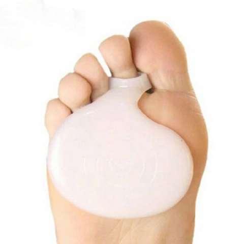 Silicona para los dolores del pie
