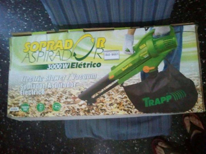 Aspiradora sopladora de hojas ale spawncho for Aspiradora de hojas de jardin