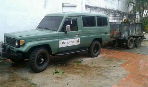 Toyota land cruiser 1987 4x4 diferencial