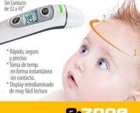Termómetro infrarrojo oído y frente bebés