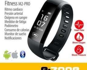 Pulsera Smart Fitness M2-PRO Ritmo card Presión arterial