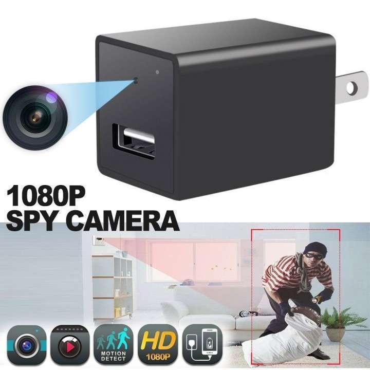 Mini cámara espía y cargador usb - 2