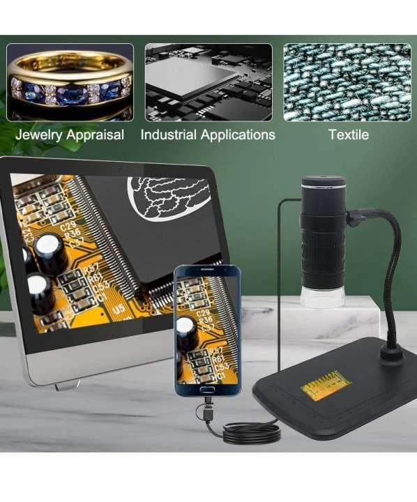 Microscopio digital usb 1000X 3 en 1 - 1