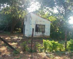 Terreno con casita en San Lorenzo km 16.5 ruta 1