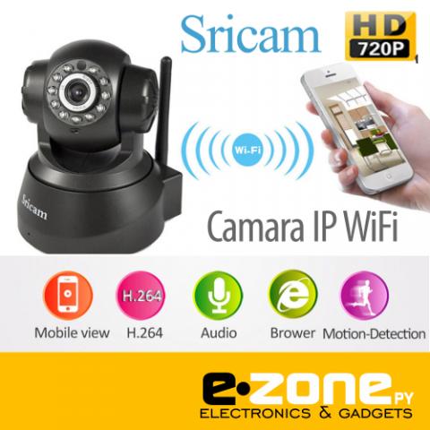 Cámara IP Wifi de vigilancia 720HD- Cabeza movil desde el telefono