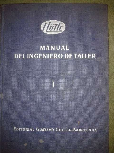 Manuales para el ingeniero de taller