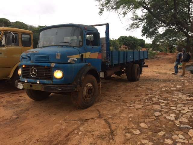 Mercedes Benz 1113 chasis largo impecable