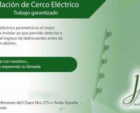 Instalaciones de cercos eléctricos