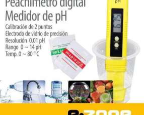 Peachimetro digital medidor de PH líquidos