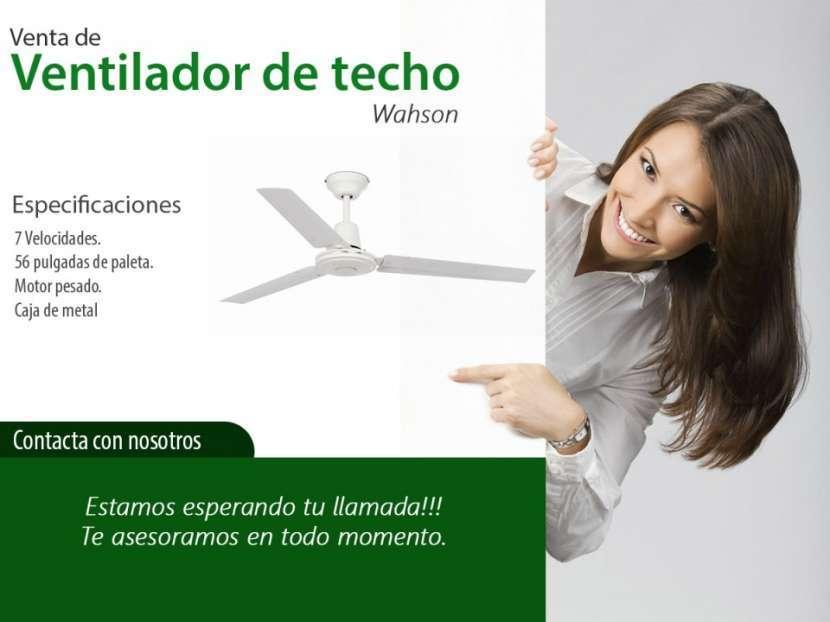 Ventilador de Techo Wahson - 0