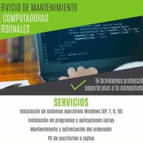 Servicio de mantenimiento de computadoras